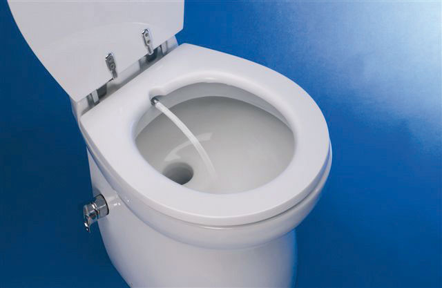 BIDET MIXER FOR DELUXE TOILET