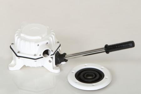 waste manual pump version a